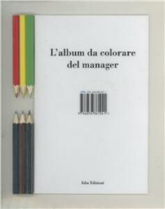 L' album da colorare del manager