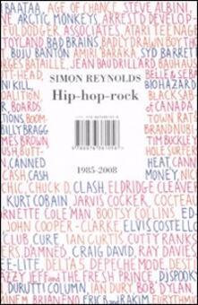 Hip-hop-rock 1985-2008 - Simon Reynolds - copertina