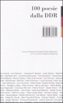 Fondazionesergioperlamusica.it 100 poesie dalla DDR Image