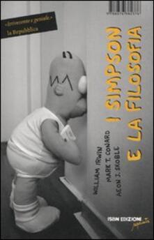 I Simpson e la filosofia - William Irwin,Mark T. Conard,Aeon J. Skoble - copertina