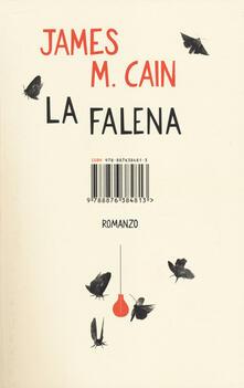 La falena - James M. Cain - copertina
