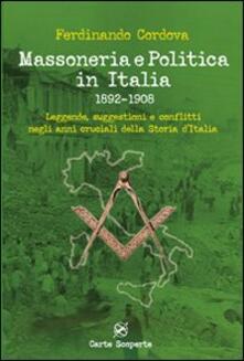 Antondemarirreguera.es Massoneria e politica in Italia 1892-1908. Leggende, suggestioni e conflitti negli anni cruciali della storia d'Italia Image