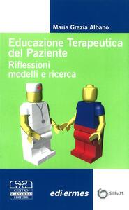 Educazione terapeutica del paziente. Riflessioni, modelli e ricerca - copertina