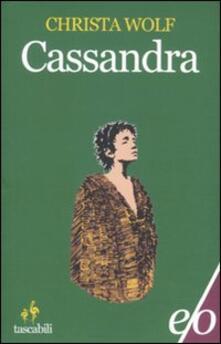 Cassandra - Christa Wolf - copertina