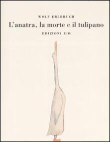 L' anatra, la morte e il tulipano - Wolf Erlbruch - copertina