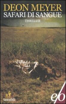 Safari di sangue - Deon Meyer - copertina