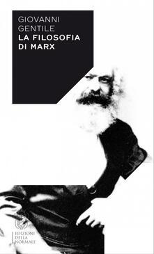 Mercatinidinataletorino.it La filosofia di Marx Image