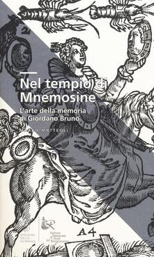 Daddyswing.es Nel tempio di Mnemosine. L'arte della memoria di Giordano Bruno Image
