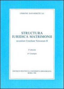 Structura iuridica matrimonii secundum Concilium Vaticanum II