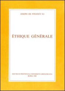 Éthique générale