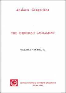 The christian sacrament