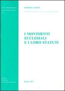I movimenti ecclesiali e i loro statuti