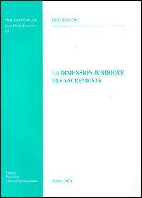 La dimension juridique des sacrament