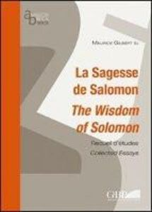 La sagesse de Salomon. The wisdom of Salomon