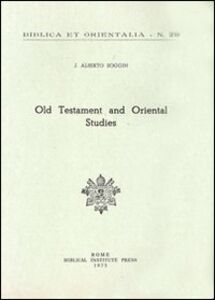Old Testament and oriental studies