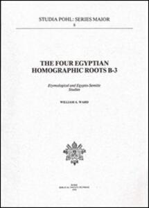 The Four Egyptian homographic roots B-3. Etymological and egypto-semitic studies