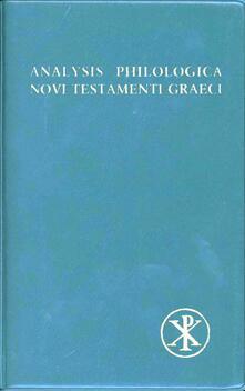 Tegliowinterrun.it Analysis philologica Novi Testamenti graeci Image