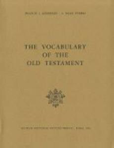 The vocabulary of the Old Testament