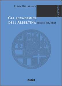 Gli accademici dell'Albertina (Torino, 1822-1884)