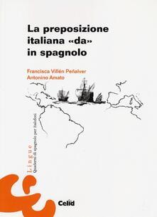 Radiospeed.it La preposizione italiana «da» in spagnolo Image