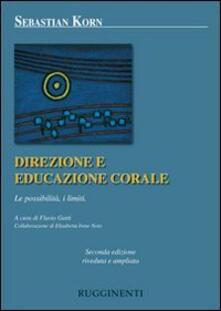 Direzione ed educazione corale. Le possibilità, i limiti.pdf