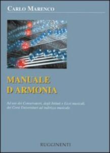 Manuale d'armonia. Ad uso dei conservatori degli istituti e licei musicali, dei corsi universitari ad indirizzo musicale