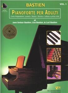Nuovo corso di pianoforte per adulti. Con 2 CD. Vol. 1