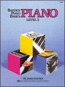 Piano. 2º livello - James Bastien - copertina