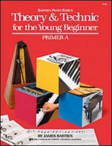 Teoria e tecnica per il piccolo principiante. Preparatorio A.pdf