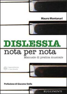 Cocktaillab.it Dislessia «nota per nota». Manuale sulla pratica dell'allievo dislessico allo strumento musicale Image