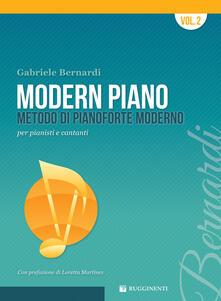 Grandtoureventi.it Modern piano. Metodo di pianoforte moderno per pianisti e cantanti Image