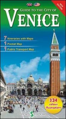 Guida alla città di Venezia. Ediz. inglese - copertina