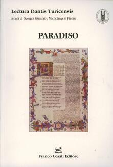 Lectura Dantis Turicensis. Paradiso - copertina