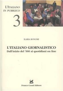 Criticalwinenotav.it L' italiano giornalistico. Dall'inizio del '900 ai quotidiani on line Image