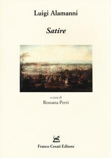 Satire - Luigi Alamanni - copertina