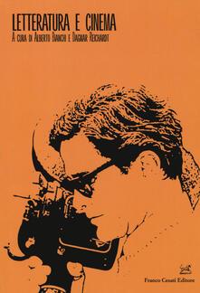 Letteratura e cinema - copertina