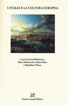 L' Italia e la cultura europea - copertina