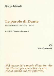 Le parole di Dante. Inedite letture televisive (1965)