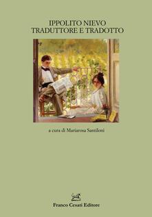 Ippolito Nievo traduttore e tradotto - copertina
