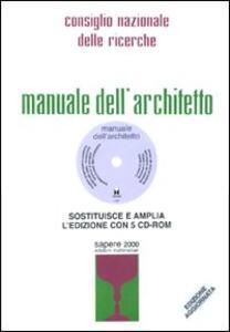 manuale dell architetto rist anast 1962 cnr libro sapere rh ibs it manuale dell'architetto scale manuale dell'architetto ridolfi
