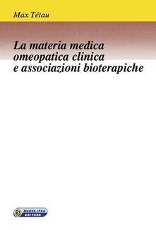 Osteriacasadimare.it La materia medica omeopatica clinica e associazioni bioterapiche Image