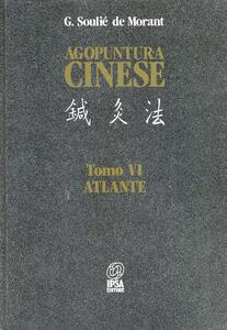 Agopuntura cinese. Vol. 6: Atlante.