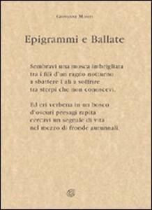 Epigrammi e ballate