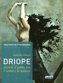 Driope, ovvero il patto tra l'uomo e la natura - Gabriele Peroni - copertina