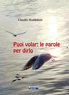 Premioquesti.it Puoi volar. Le parole per dirlo Image