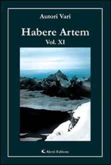 Habere artem. Vol. 11 - copertina