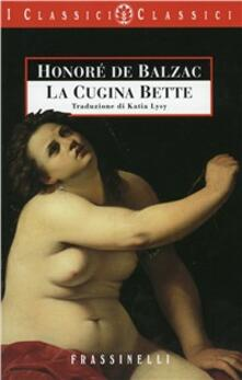 La cugina Bette - Honoré de Balzac - copertina