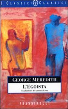 L' egoista - George Meredith - copertina