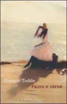Paura e carne - Giorgio Todde - copertina