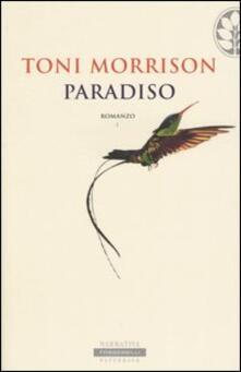 Paradiso - Toni Morrison - copertina